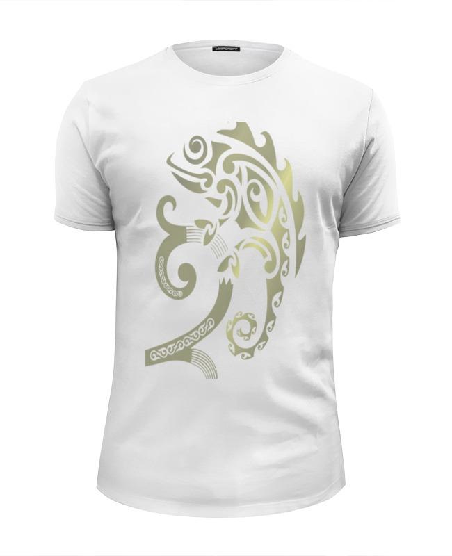 Футболка Wearcraft Premium Slim Fit Printio Хамелеон футболка хамелеон