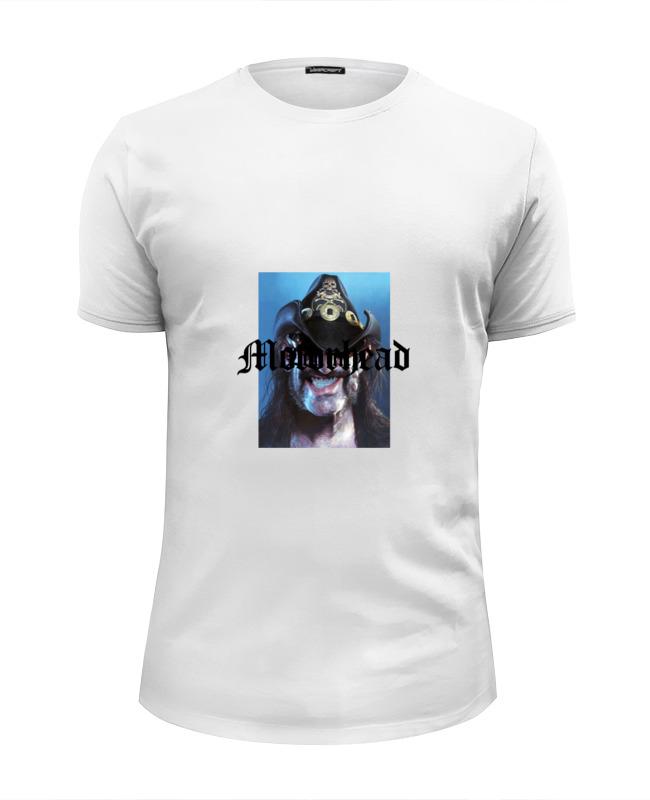 Футболка Wearcraft Premium Slim Fit Printio Motorhead - lemmy kilmister футболка wearcraft premium printio lemmy kilmister motorhead