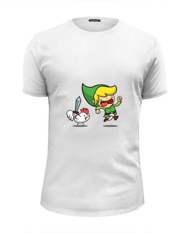 Футболка Wearcraft Premium Slim Fit Printio Линк (зельда) футболка wearcraft premium printio majora s mask зельда