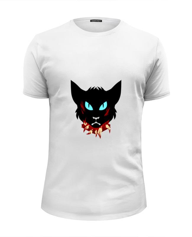 Футболка Wearcraft Premium Slim Fit Printio Голова кота цена