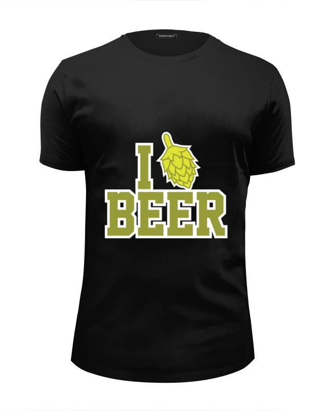 Printio Люблю пиво футболка wearcraft premium slim fit printio пиво а не война