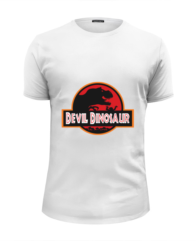 Printio Дьявол динозавр (парк юрского периода) майка классическая printio дьявол динозавр парк юрского периода