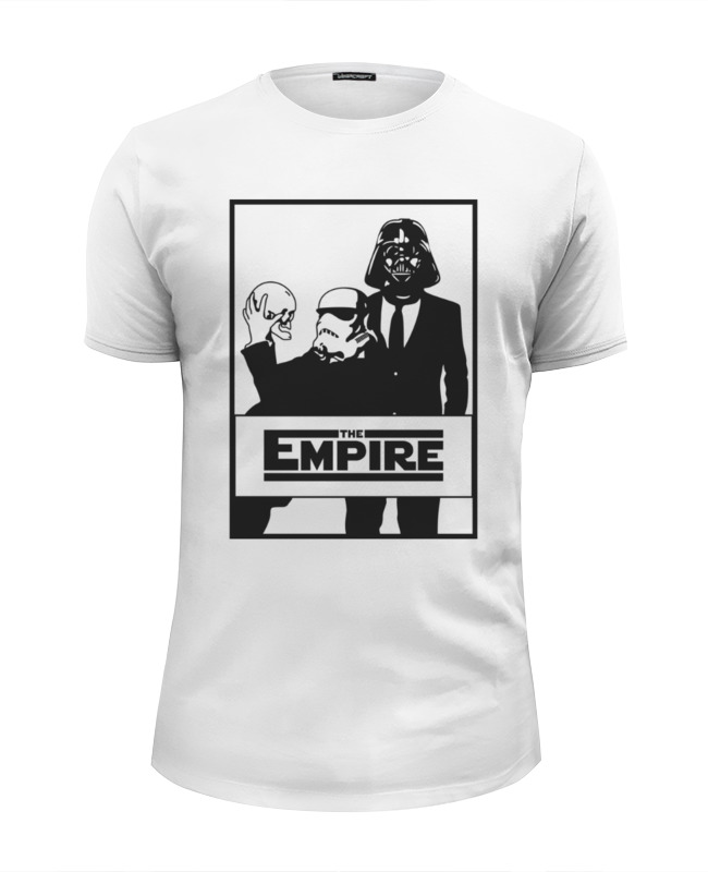 Футболка Wearcraft Premium Slim Fit Printio The empire. звёздные войны футболка wearcraft premium slim fit printio empire time