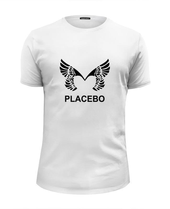 цена Футболка Wearcraft Premium Slim Fit Printio Placebo (wings)