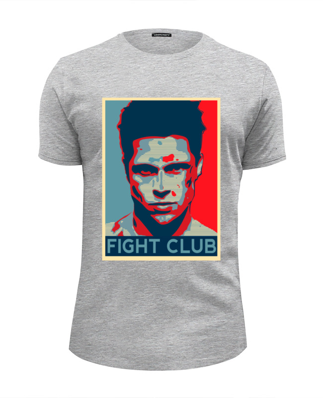 Футболка Wearcraft Premium Slim Fit Printio Tyler durden (fight club) tyler childers london
