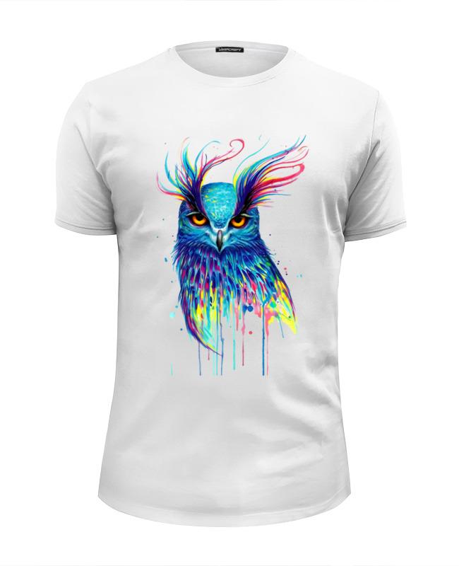 Фото - Printio Ночная птичка футболка wearcraft premium slim fit printio этно птичка