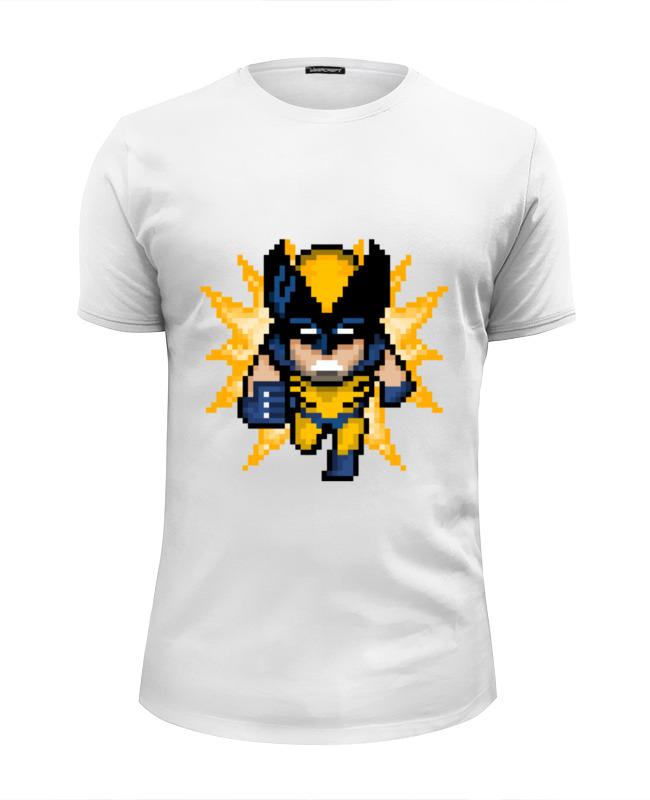 Футболка Wearcraft Premium Slim Fit Printio Росомаха (люди икс) футболка стрэйч printio росомаха люди икс