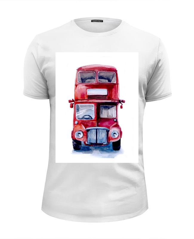 Футболка Wearcraft Premium Slim Fit Printio London bus welly london bus 99930