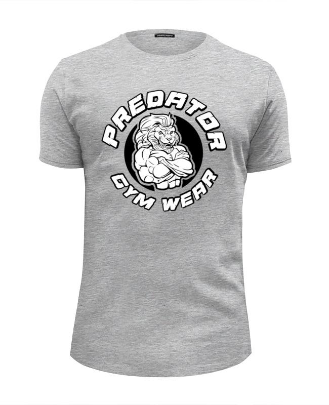 Футболка Wearcraft Premium Slim Fit Printio Predator gym wear футболка wearcraft premium slim fit printio predator