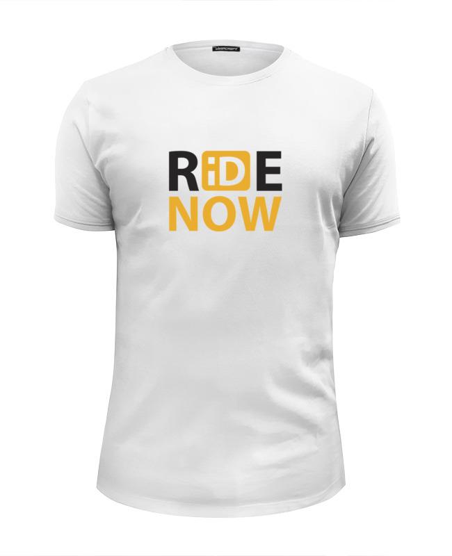 Футболка Wearcraft Premium Slim Fit Printio Ride-now мужская одежда для спорта