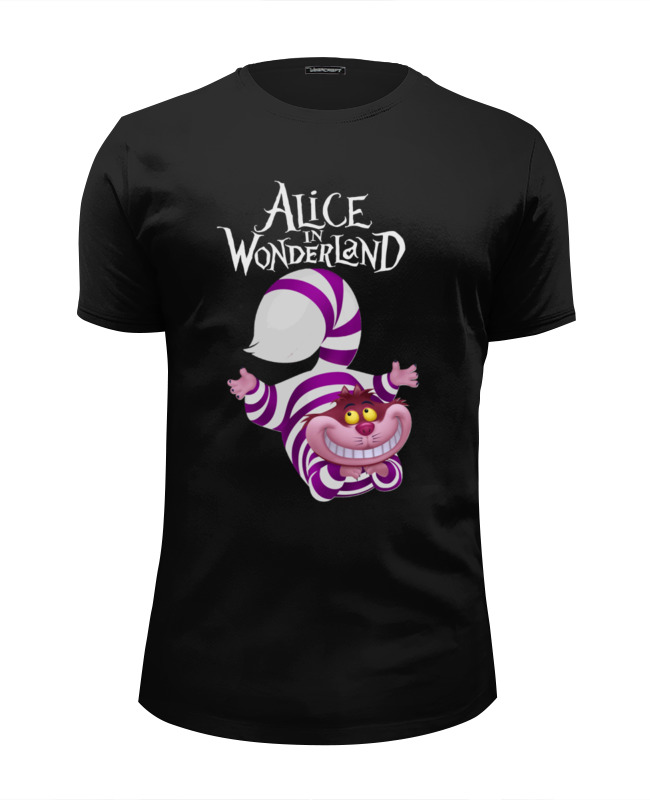 Футболка Wearcraft Premium Slim Fit Printio Alice in wonderland футболка print bar rabbit of alice wonderland