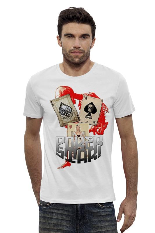 Футболка Wearcraft Premium Slim Fit Printio Звезда покера футболка wearcraft premium printio кит и планеты