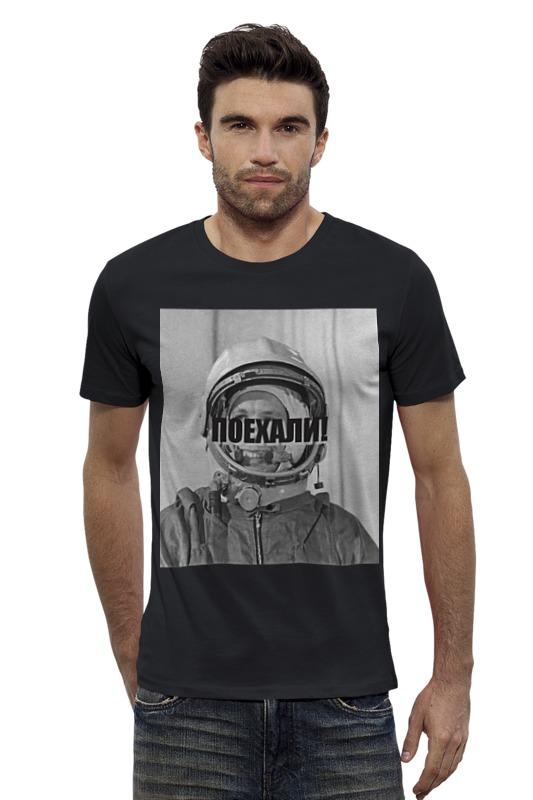 Футболка Wearcraft Premium Slim Fit Printio Гагарин футболка wearcraft premium slim fit printio vampire