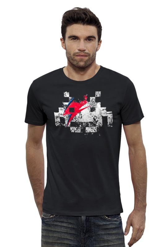 Футболка Wearcraft Premium Slim Fit Printio Космический захватчик футболка wearcraft premium printio космический кит