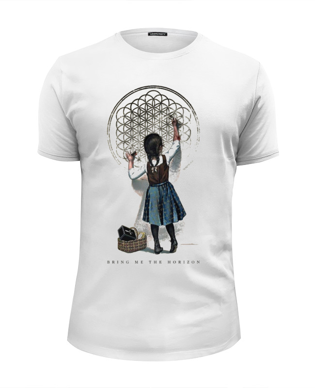 Футболка Wearcraft Premium Slim Fit Printio Bring me the horizon девочка футболка стрэйч printio bring me the horizon треугольник