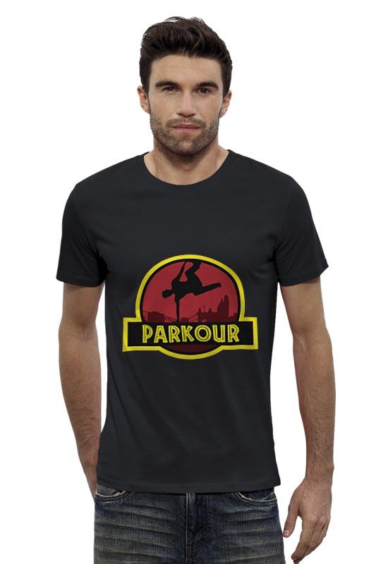 Футболка Wearcraft Premium Slim Fit Printio Паркур
