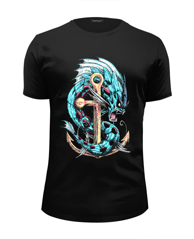 Футболка Wearcraft Premium Slim Fit Printio Дракон футболка wearcraft premium slim fit printio русалка и дракон