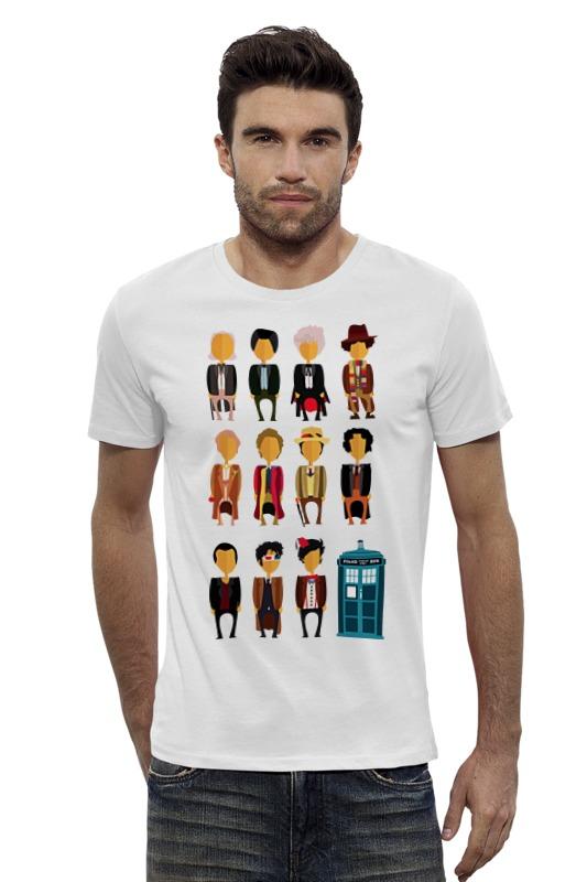 Футболка Wearcraft Premium Slim Fit Printio Доктор кто (doctor who) футболка рингер printio доктор кто doctor who