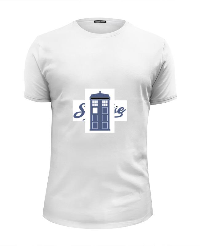 Printio Hello sweetie & tardis \ привет, милый & тардис футболка wearcraft premium slim fit printio hello sweetie привет милый