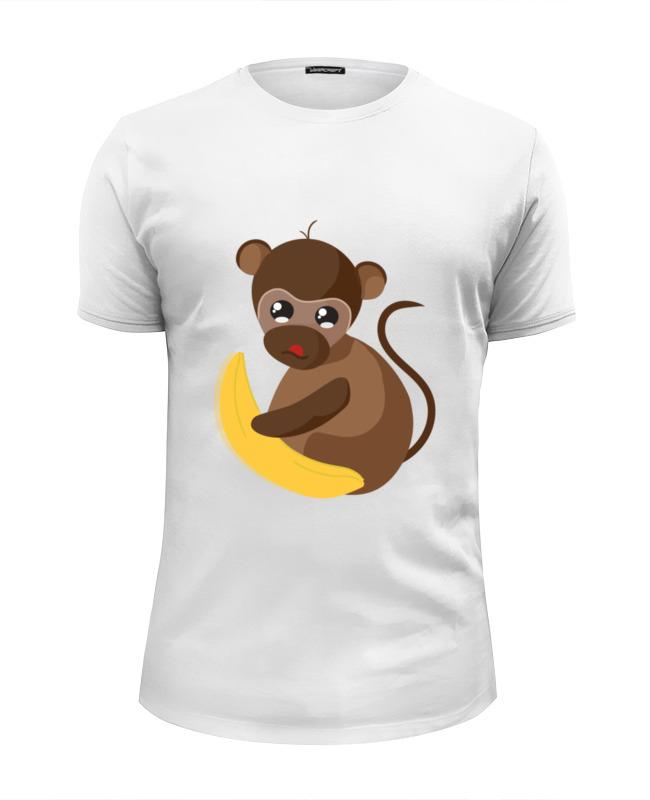 Футболка Wearcraft Premium Slim Fit Printio Обезьянка биззи 2016 футболка wearcraft premium slim fit printio обезьянка биззи 2016