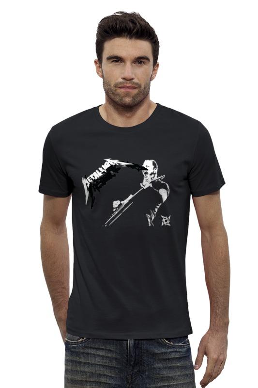 Футболка Wearcraft Premium Slim Fit Printio Металлика футболка wearcraft premium slim fit printio avengers