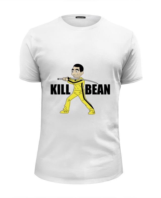 Футболка Wearcraft Premium Slim Fit Printio Мистер бин толстовка wearcraft premium унисекс printio футболка мистер бин