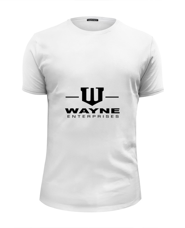 Футболка Wearcraft Premium Slim Fit Printio Брюс уэйн футболка wearcraft premium printio брюс спрингстин