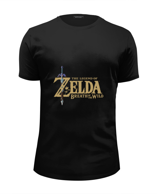 Футболка Wearcraft Premium Slim Fit Printio The legend of zelda breath of the wild