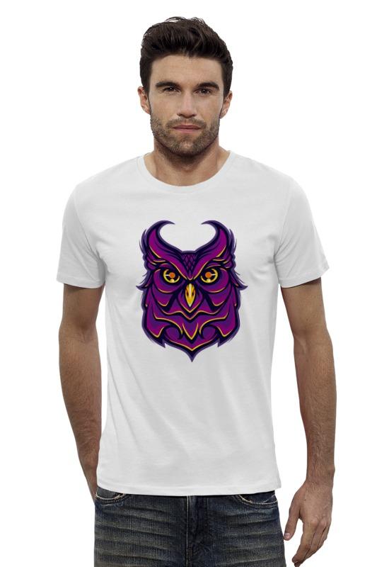Футболка Wearcraft Premium Slim Fit Printio Ночная сова (owl) футболка wearcraft premium slim fit printio ночная сова owl