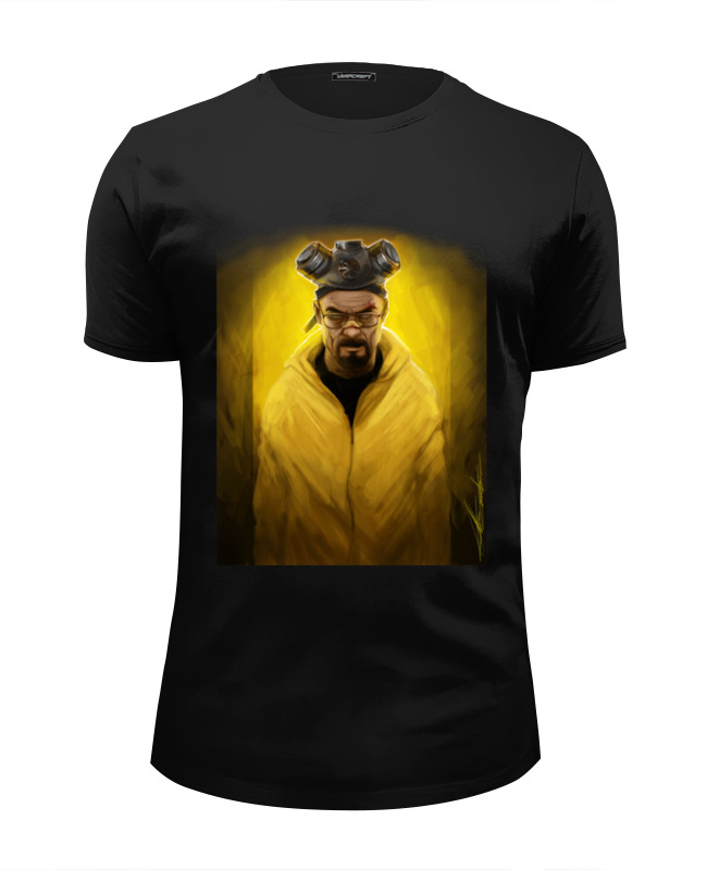 Футболка Wearcraft Premium Slim Fit Printio Breaking bad heisenberg art футболка wearcraft premium slim fit printio god of meth breaking bad