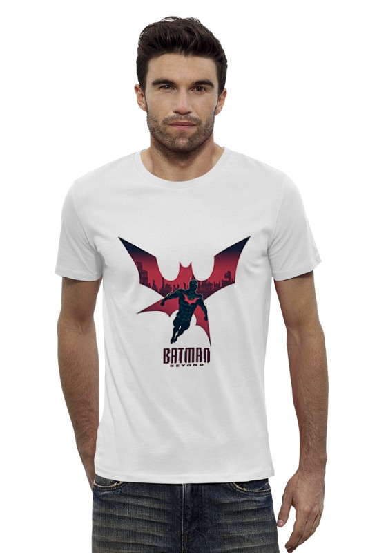 Футболка Wearcraft Premium Slim Fit Printio Batman beyond футболка wearcraft premium slim fit printio batman beyond бэтмен будущего