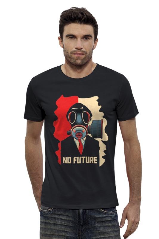 Футболка Wearcraft Premium Slim Fit Printio No future (без будущего) футболка wearcraft premium slim fit printio нет проблем no prob llama