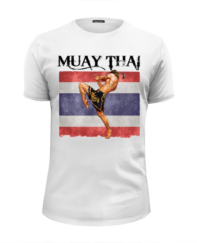 Футболка Wearcraft Premium Slim Fit Printio Muay thai муай тай тайский бокс дмитрий щегрикович тайский бокс