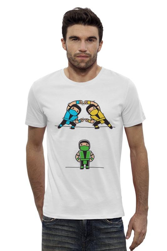Футболка Wearcraft Premium Slim Fit Printio Мортал комбат (mortal kombat)