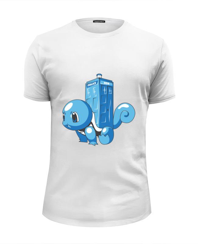 Футболка Wearcraft Premium Slim Fit Printio Покемон (тардис) футболка wearcraft premium slim fit printio красная шапочка и тардис