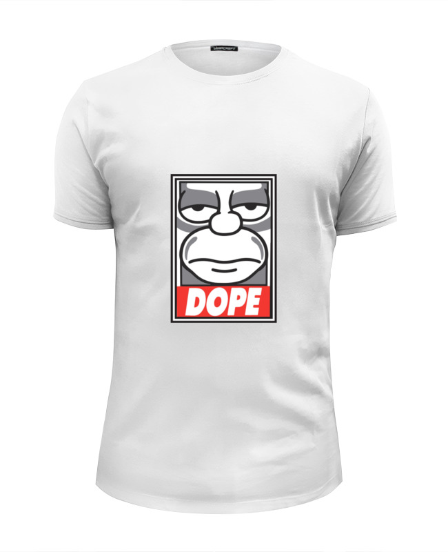 Футболка Wearcraft Premium Slim Fit Printio |dope| футболка wearcraft premium printio dope