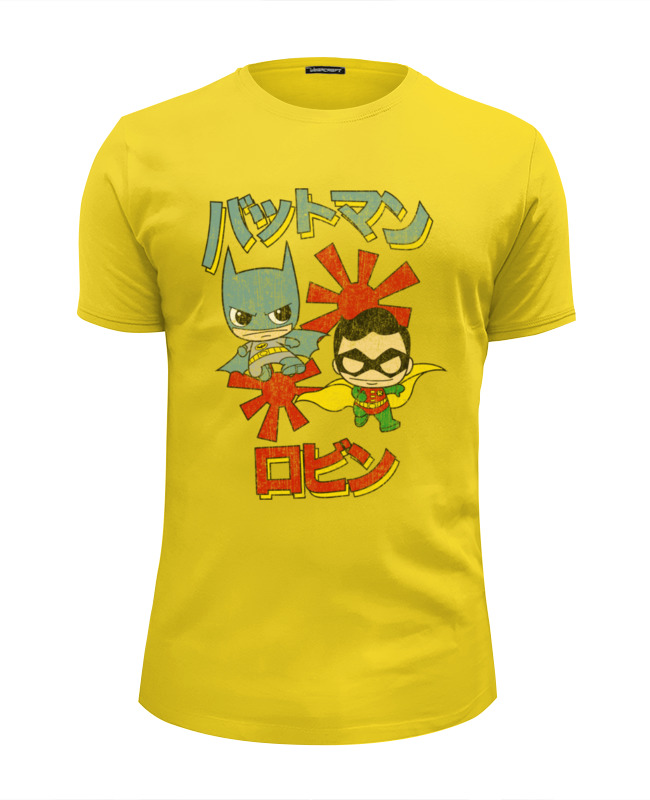 Футболка Wearcraft Premium Slim Fit Printio Бэтмен и робин футболка wearcraft premium slim fit printio бэтмен и робин пощёчина