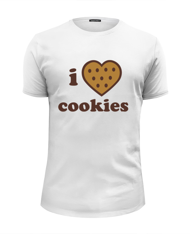 Футболка Wearcraft Premium Slim Fit Printio i love cookies cook cooker chef made cookies mold u образные антипригарные печенья cookies cookies short form 20 1 5 8 4 1cm champagne gold wk9069