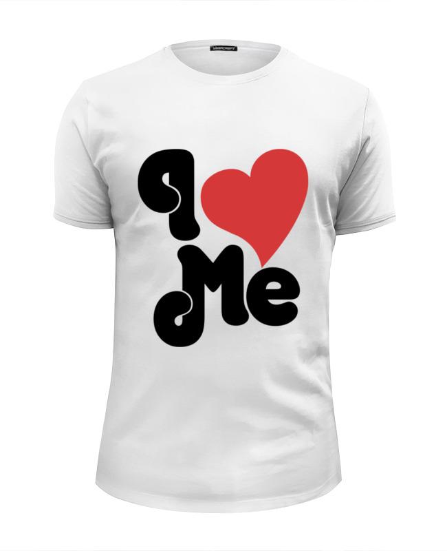Футболка Wearcraft Premium Slim Fit Printio Я люблю себя футболка wearcraft premium slim fit printio люблю науку