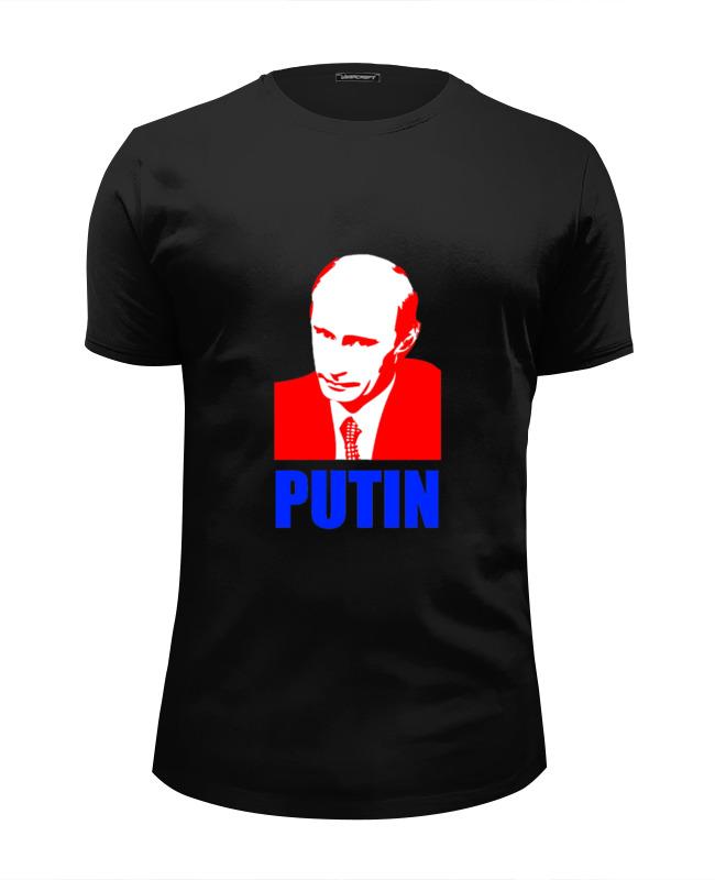 Футболка Wearcraft Premium Slim Fit Printio Putin футболка wearcraft premium slim fit printio putin save the world