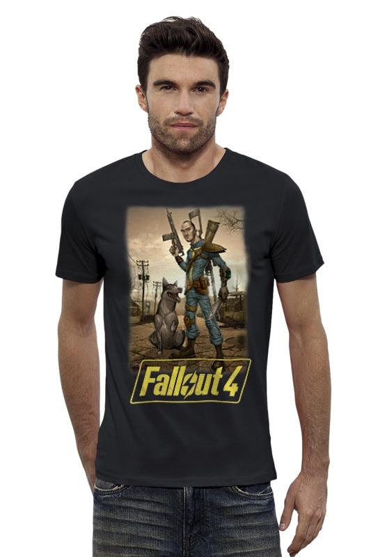 Футболка Wearcraft Premium Slim Fit Printio Fallout 4 футболка классическая printio fallout фэллаут