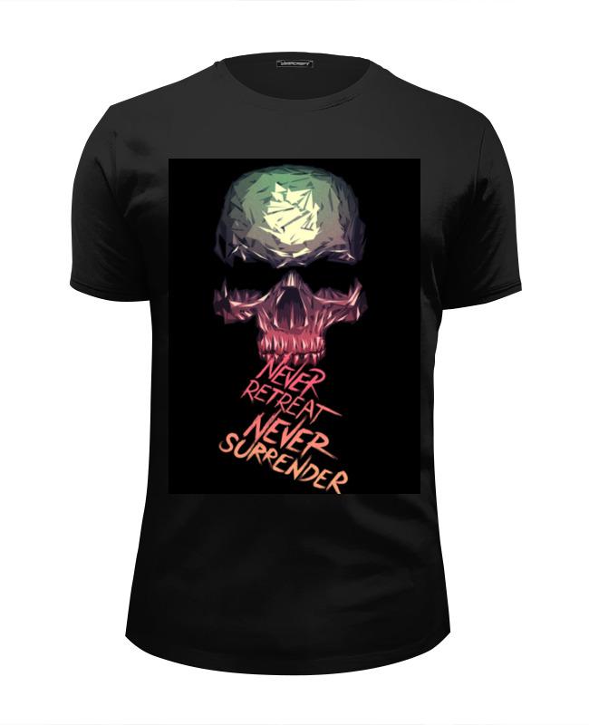Футболка Wearcraft Premium Slim Fit Printio Skull - 3 футболка wearcraft premium slim fit printio floral skull