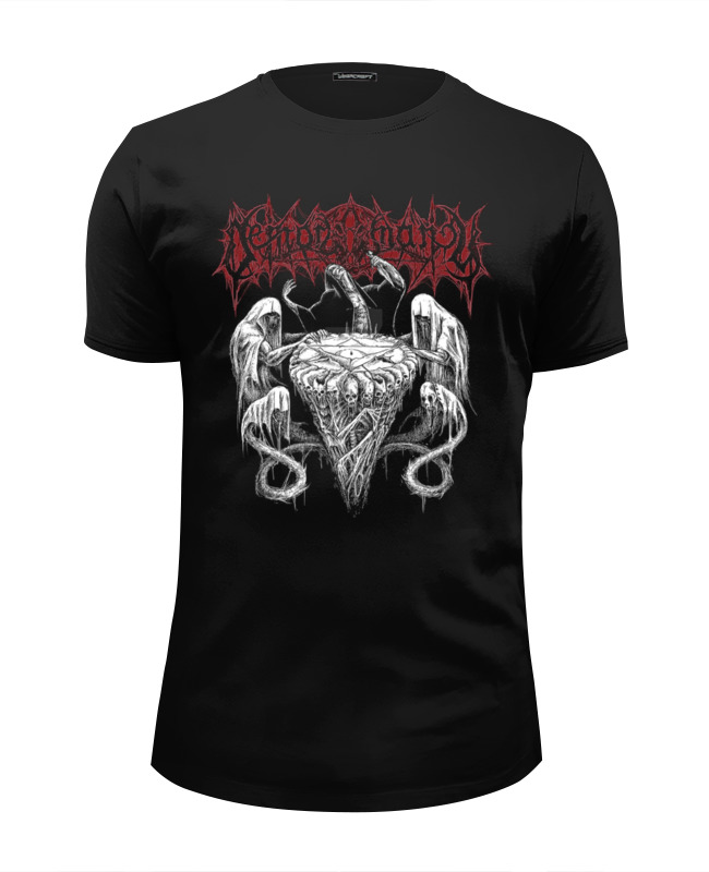 Футболка Wearcraft Premium Slim Fit Printio Black & death metal art рубашка insight death shade floyd black