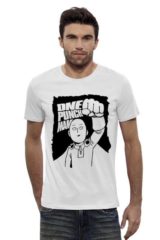 Футболка Wearcraft Premium Slim Fit Printio Ванпанчмен ( one punch man ) футболка wearcraft premium printio one punch man