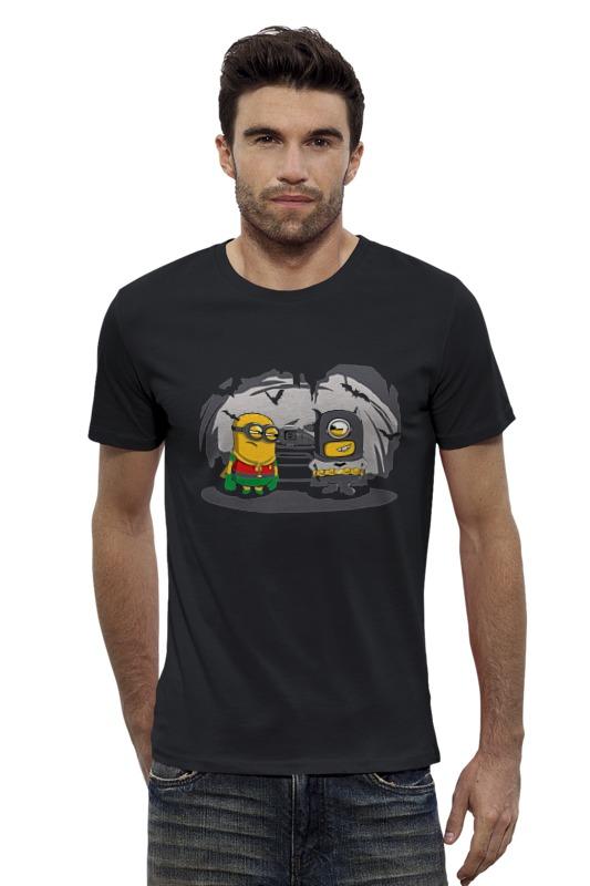 Футболка Wearcraft Premium Slim Fit Printio Batman minions футболка wearcraft premium slim fit printio batman beyond