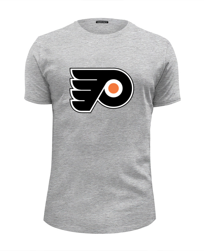 Футболка Wearcraft Premium Slim Fit Printio Philadelphia flyers / nhl usa футболка стрэйч printio philadelphia flyers nhl usa