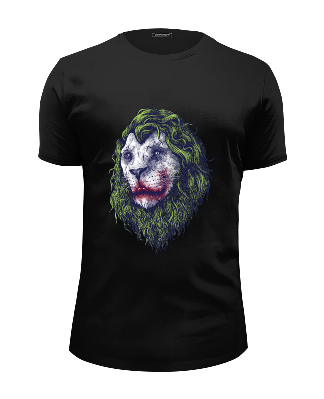 Футболка Wearcraft Premium Slim Fit Printio Joker lion