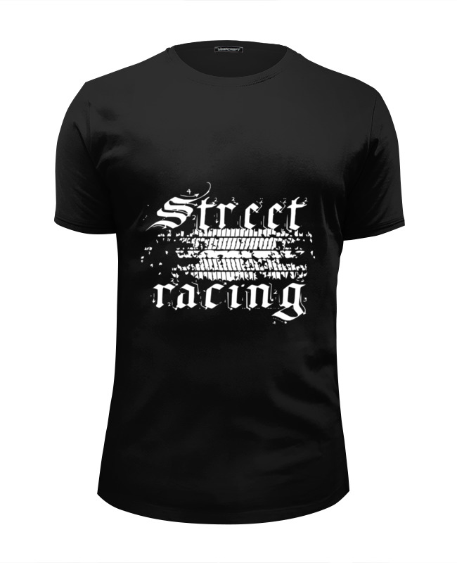 Футболка Wearcraft Premium Slim Fit Printio Street racing