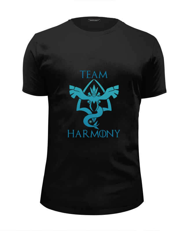 Футболка Wearcraft Premium Slim Fit Printio Team harmony