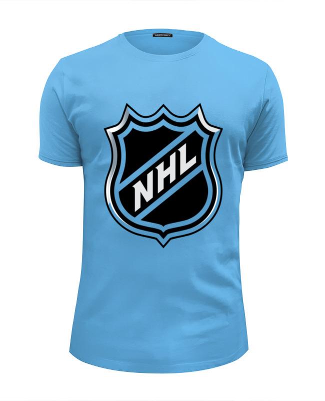 Футболка Wearcraft Premium Slim Fit Printio Nhl(нхл) кепка printio национальная хоккейная лига